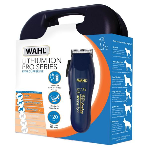 Wahl Pro Series Lithium Ion Animal Clipper Kit